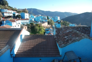 No, you´re not imagining it: the sleepy village of Júzcar is Sony´s official ´smurf village´and the Genal Valley´s only pueblo azul