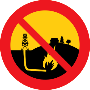 cybergedeon_no_shale_gas_black_road_sign