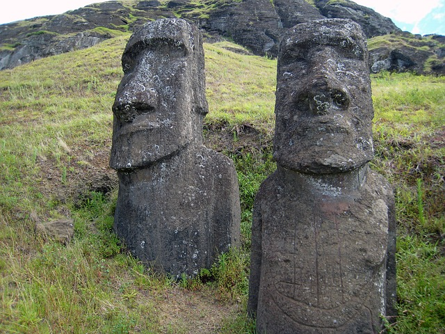 The mysterious Moai on Easter Island. Are they much older than we think?